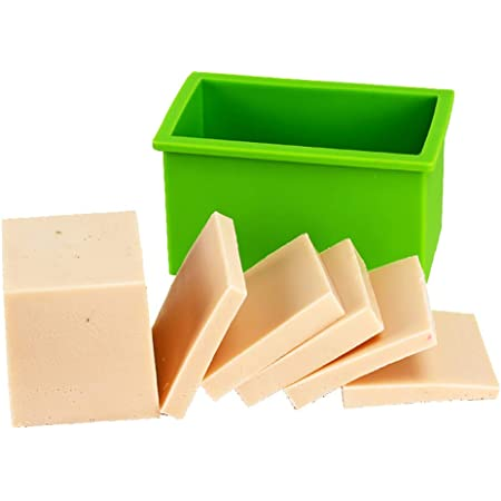 Rectangle Soft Silicone Soap Mold Box DIY Tools Toast Loaf Baking Cake Molds