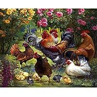 1000ピース木製パズル-ガーデン家禽チキンパズル1000ピース