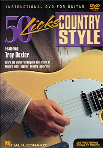 50 Licks: Country Style Guitar [Region 2]
