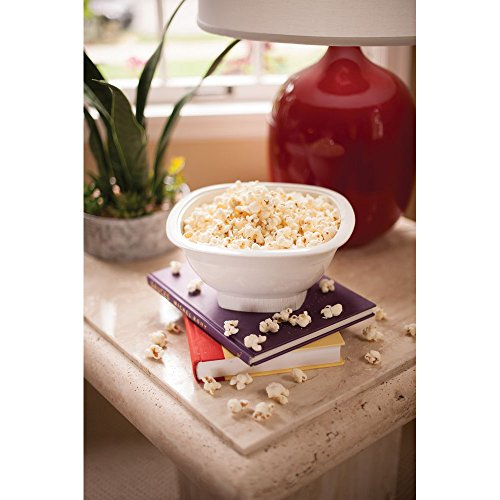 Product Image 2: Nordic Ware Microwave Popcorn Popper, White, 12 Cup