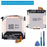 E-yiiviil Batterie de Rechange FW3L Compatible avec Moto 360 2nd-Gen 2015 Smart Watch 46 mm SNN5962A avec Outils