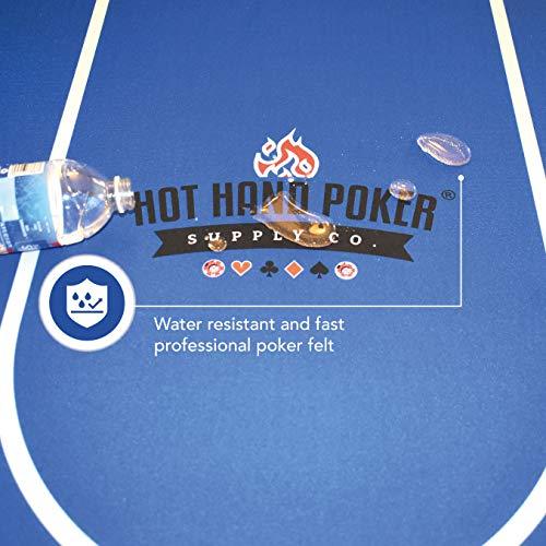 Table de poker pliante pour 10...