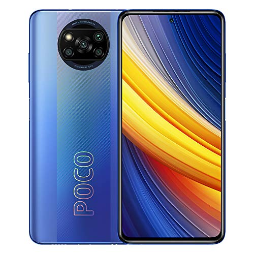 Poco X3 Pro | 128GB 6GB RAM | Factory Unlocked (GSM ONLY | Not Compatible with Verizon/Sprint/Boost) | International Version (Frost Blue)