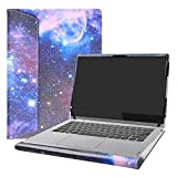 Alapmk Diseñado Especialmente La Funda Protectora para 14' Lenovo Yoga C930 C930-13IKB & Lenovo ideapad S540 14 S540-14IWL S540-14API Laptop(Not fit Lenovo Yoga Book C930),Galaxy