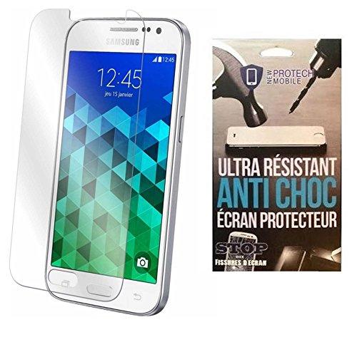 iPomcase Protector de pantalla de cristal templado, antigolpes, para Samsung Galaxy Core...