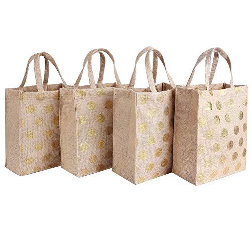 Earthbags - Bolsas Reutilizables Yute Regalo Natural con la