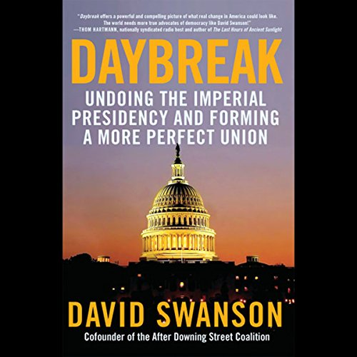 Daybreak audiobook cover art