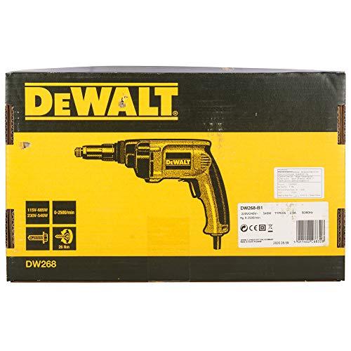 DEWALT Drywall Screw Gun, 6.5-Amp (DW268)