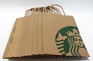 [スターバックス]STARBUCKS手提げショップ紙袋10枚 (並行輸入品)
