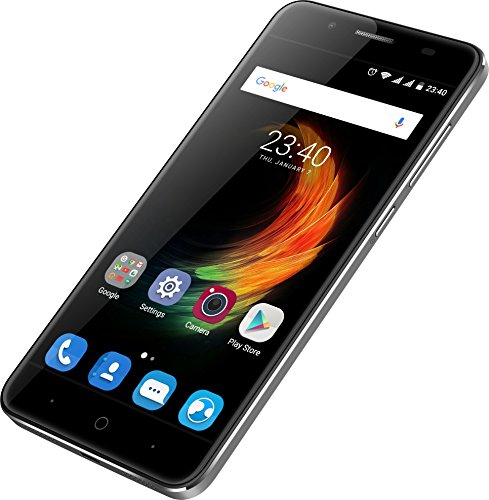 ZTE Blade A610 Plus Smartphone (13,97 cm (5,5 Zoll) Display, 32 GB Speicher, Android 6.0) grau