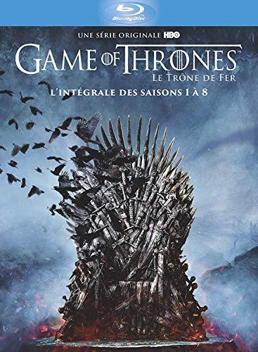 Coffret collector Blu-ray Game of Thrones L'intégrale des Saisons 1 à 8 Edition Spéciale (Inclus un Livret Photos + 4 Disques Bonus)