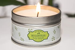 Massage Oil Candles Scented Wax, 100% Eco-Friendly Organic, Edible Candle And Vegetable Oil, Massage Candle 2.5 oz