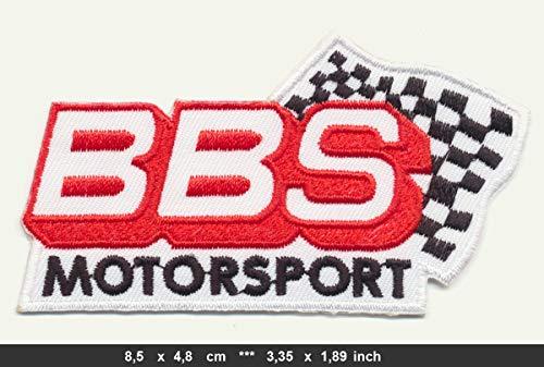 MoTech BBS Motorsport Patch Aufnäher Aufbügler Automobile Felgen Rennsport