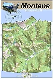 47°106° NE - Fort Peck Lake East, Montana Backcountry Atlas (Topo)