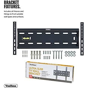 Cheap Electronics Vonhaus 15 42 Inch Tv Wall Bracket Flat To Wall Mount For Vesa Compatible Screens 40kg Weight Capacity Compare Prices For Cheap Electronics Prices