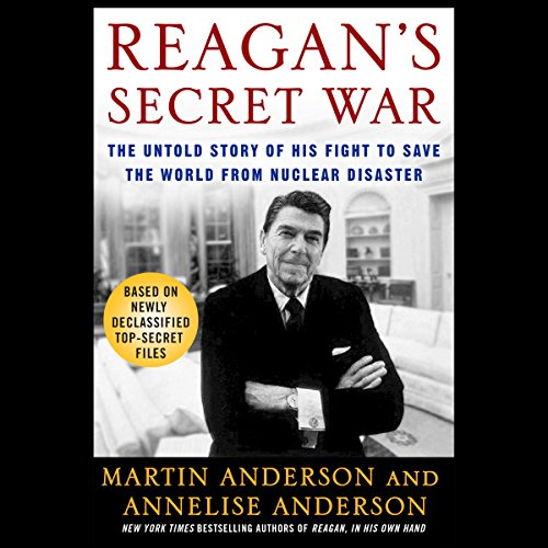Reagan's Secret War audiobook cover art