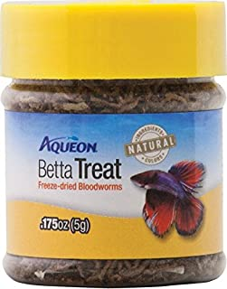 Aqueon Betta Bloodworm Treat, 0.175 Ounce