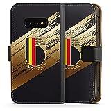 DeinDesign Étui Compatible avec Samsung Galaxy S10e Étui Folio Étui magnétique Maillot RBFA...