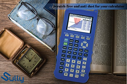 Silicone Case for Ti 84 Plus CE Calculator (Blue) - Cover for Texas Instruments Ti-84 Graphing Calculator - Silicon Skin for Ti84 Plus - Protective & Anti-Scretch Cases - Ti 84 Accessories by Sully Photo #6