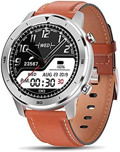 Relojes inteligentes hombres s ronda pantalla táctil relojes inteligentes IP68 impermeable deportes reloj para Android IOS