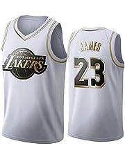 Gofei Uomo Donna Lakers 23# James Jersey Maglia da Basket Traspirante Canotte da Basket