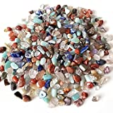 500 g 3 tamaños natural mezclado cristal piedra roca roca grava espécimen tanque decoración natural piedras y minerales, para maceta, jardín y decoración del acuario intensamente ( Size : 4-6mm )