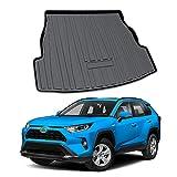 YEE PIN Tapis de Coffre en Caoutchouc Compatible avec Toyota RAV4 XA50 2020 | Tapis de Protection latérale en Caoutchouc pour Le Transport de Bagages