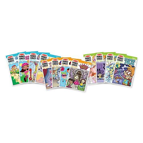 Phonics Comics All Levels Assortment (12 Books: 1 Each of 31500 to 31511)
