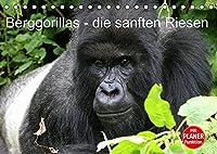 Berggorillas - die sanften Riesen (Tischkalender 2022 DIN A5 quer): Berggorillas in ihrem natuerlichen Lebensraum (Geburtstagskalender, 14 Seiten )
