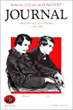 Journal des Goncourt, tome 1