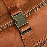 Berliner Bags Rucksack Utrecht XL Kurierrucksack mit Laptopfach aus Leder Fahrradrucksack Trekkingrucksack Damen Herren - 2