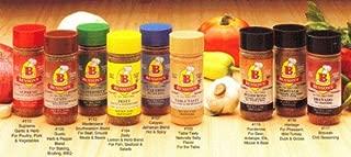 9-Pack No Sodium Seasoning Set - 8 Seasonings + Salt Substitute + 2 Low Sodium Cookbooks - Salt-Free, Sugar Free, Gluten Free, No MSG, No Preservatives, No Potassium Chloride - Salt Free Cooking