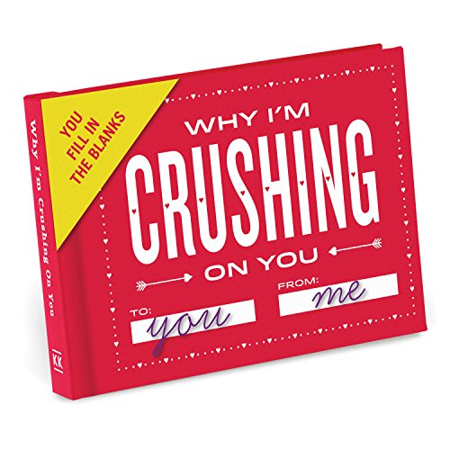 Knock Knock Why I'm Crushing on You Fill in the Love Book Fill-in-the-Blank Gift Journal, 4.5 x 3.25-inches Photo #8