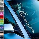 1A Style Sticker kompatibel mit Volkswagen Auto Aufkleber Frontscheibenaufkleber Autotuning VW Autoaufkleber