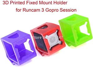 Part & Accessories Ultralight 3D Printed cases 30Degree Fixed Mount Holder for Runcam3s Gopro Session Wizard X220s Camera seat bracket - (Color: GREEN)