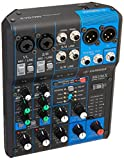 Yamaha MG06X 6 Input Stereo Mixer (with SPX Effects) w/Stereo 1/8' TRS to Dual 1/4' Breakout Cable and (1) 20' XLR Mic Cable