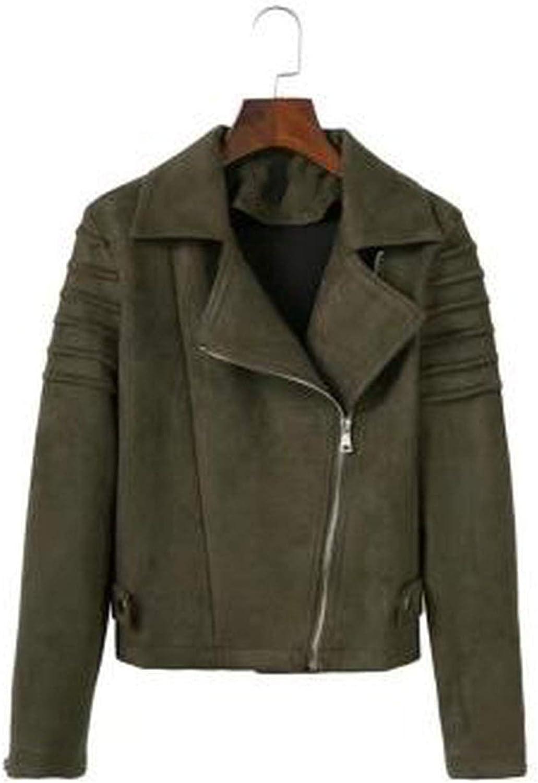 Casual Jacket 2019 Autumn and Winter Fashion Slim Jacket Handsome Locomotive Deerskin Jacket