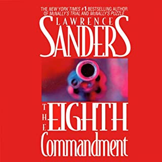 The Eighth Commandment audiobook cover art