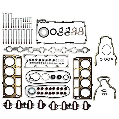 Vincos MLS Full Cylinder Engine Gasket Set w/Head Bolts HS26282PT GS33380 ES72173 (1st Generation)