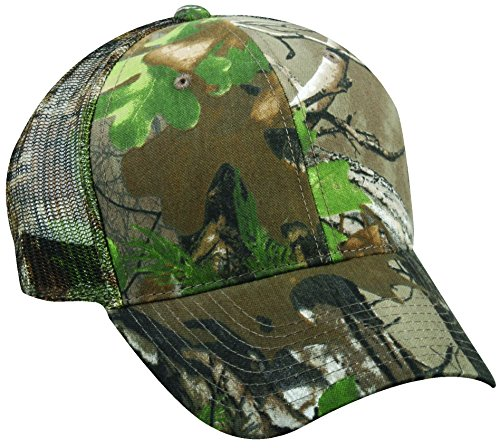 Outdoor Cap Mesh Back Cap, Realtree Xtra Green, One Size