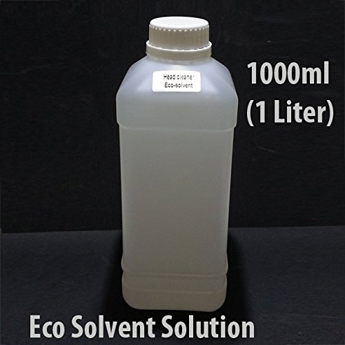 Eco Solvent Cleaning Solution1000 ml (1 Liter) For Mimaki Roland Mutoh Epson Ink Line Head Flushing Liquid