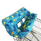 Corwar Tragbarer Einkaufswagenbezug für Baby & Kleinkind-Baby Hochstuhlbezug-Kleinkind Esszimmerstuhl Sitzkissen Tragbarer Einkaufswagen Stuhlbezug Babysitzbezug für Jungen und Mädchen