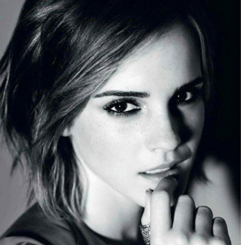 Firefly Arts Emma Watson Regression 35 x 36 cm oder 60 x 61 cm 14 x 14 Zoll oder 24 x 24 Zoll Poster auf Seide - Kunstdrucke (24x24 Zoll)