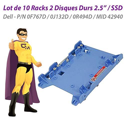Dell - Lote de 10 Racks de 2 Discos Duros (2,5 Pulgadas, SSD