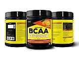 Healthvit Fitness BCAA 6000mg 2:1:1 with L-Glutamine & L-Citrulline Malate, 200g(Orange) (10 Servings)