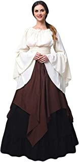 Clearance Gothic Dress,Forthery Womens Renaissance Medieval Costume Dress Gothic Victorian Fancy Dresses