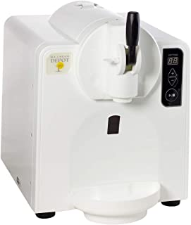 Automatic At-Home Soft Serve Ice Cream Machine Makes Batches of 35 Ounces Perfect for Soft Serve Ice Cream, Slush Drinks, Milk Shakes and More