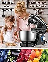 RICETTARIO PER LA FAMIGLIA ! Ricette Semplici e Veloci Da Provare Con il Robot Da Cucina: Executing Recipes With a Cooking Robot - The Best Cookbook For Beginners - Paperback Version - Italian Language Edition