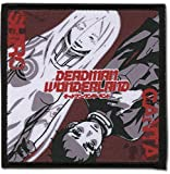 GEA Ganto & Shiro Square Deadman Wonderland Themed Decorative Anime Patch - Officially Licensed Iron On Embroidered Applique