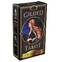 The Gilded 完全英語版のタロットデッキとEGuideブックEinstructionカードゲーム運命告知ゲームセット運命予測カードゲーム